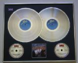 ABBA - The Singles The First Ten Years PLATINUM DOUBLE LP & DOUBLE CD